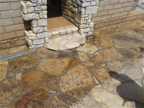 the proper way to clean seal exterior slate or flagstone san diego stone care