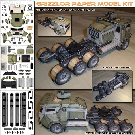 Papercraft Model - paper crafts models craftshady craftshady