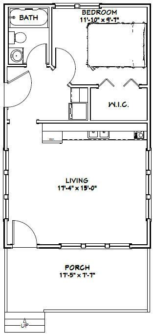 18x30 house plans 317 best images about small house plans on pinterest one bedroom cabin and cottage