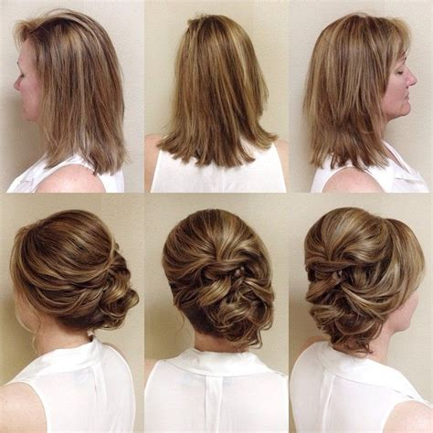 wedding day hairstyles for medium hair quot beforeandafter on the of the today another