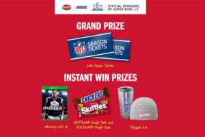 Snickers Super Bowl Sweepstakes - super bowl rivalry 2018 sweepstakes and instant win game i crave freebies