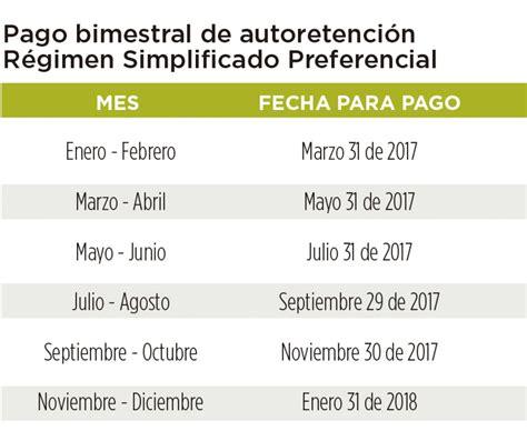 vencimiento retencion en la fuente colombia 2016 calendario tributario 2016 de retencion en la fuente tabla
