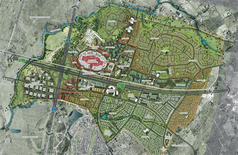 layout of the land a look at pretoria s new r44 billion city
