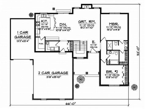 floor plans with stairs floor plan quot stairs could become study quot 1 car garage could