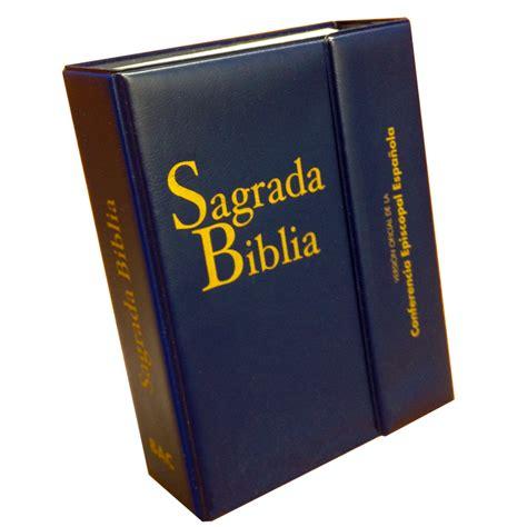 sagrada biblia con 8479144459 sagrada biblia versi 243 n oficial de la cee ed bolsillo con estuche biblioteca de autores
