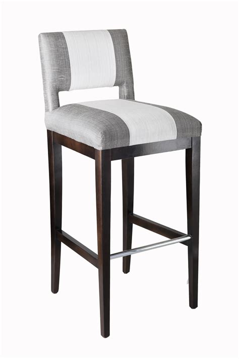 breakfast bar stools with backs the zani is a modern vent back bar stool with angular