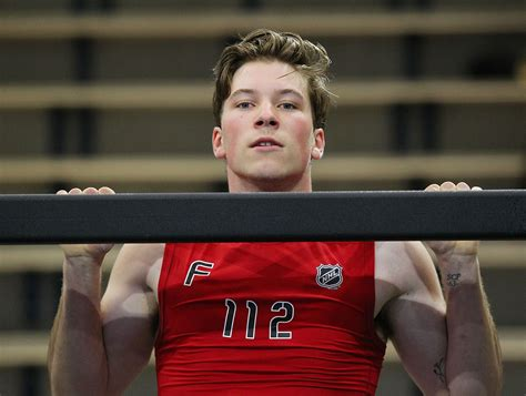 nhl combine bench press combine test results hischier bests patrick on pull up