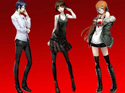 persona 5 all characters persona and confidant abilities