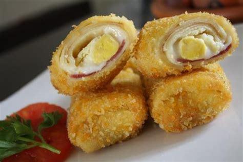 cara membuat risoles isi udang resep risoles mayonaise isi keju dan smoked beef