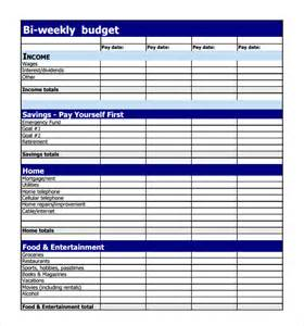 Download Budget Template Sample Weekly Budget 7 Documents In Pdf Word