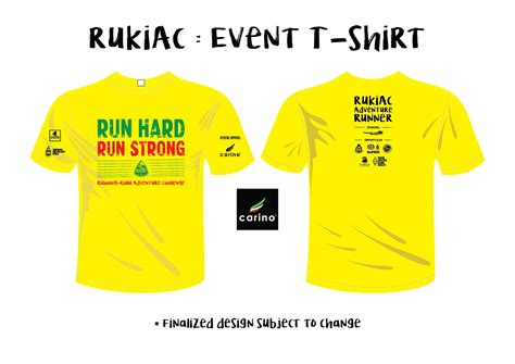 design t shirt for event ruhiang kiulu adventure challenge 2017 howei online