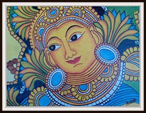 Design Decor Disha An Indian Design Decor Blog Indian Art Mural Paintings Of Kerala Painting Sketches For