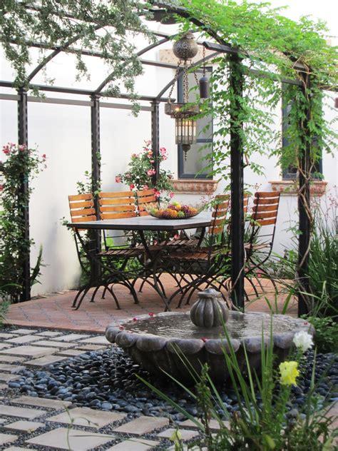 mediterranean backyard designs 露台小花园 819439 设计本装修效果图