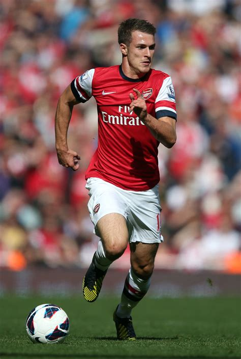arsenal ramsey aaron ramsey photos photos arsenal v chelsea premier