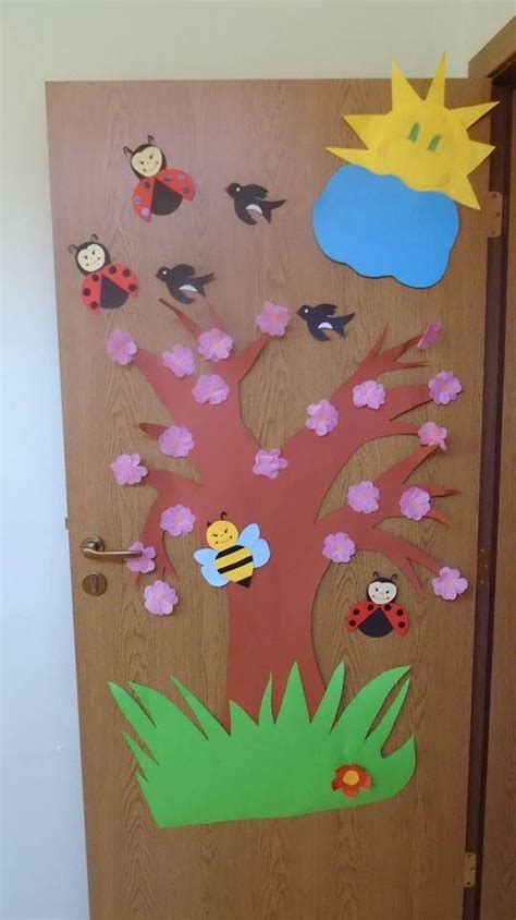 craft decorations cool door decorations for preschoolers 2