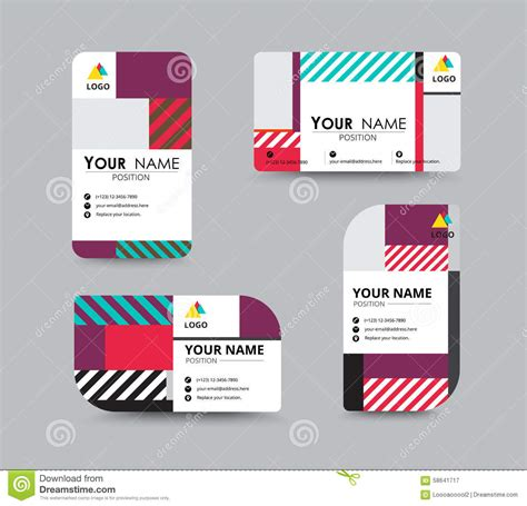 z graphic bussiness cards template 2 x3 1 2 modern business card and name card design stock vector