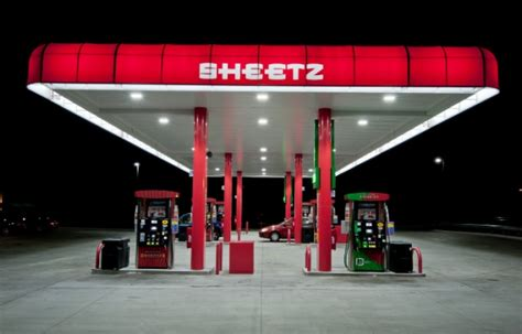 gas station canopy lighting levels convenience store led lighting case study cree lighting