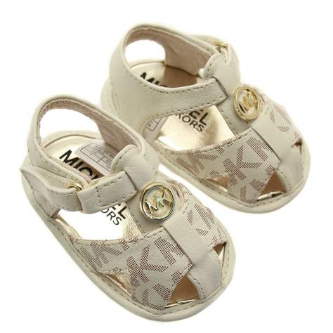 michael kors sandals for babies buy michael kors baby vanilla sandals 16 19 at