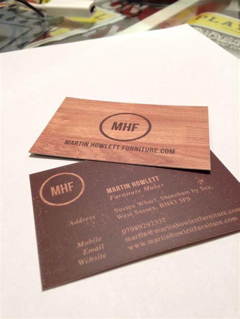 martin howlett s furniture maker business cards mario