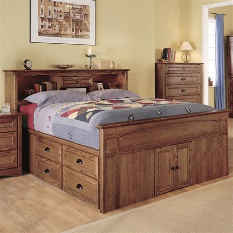 what is a captains bed bedroom captain style queen size wood bed with drawers