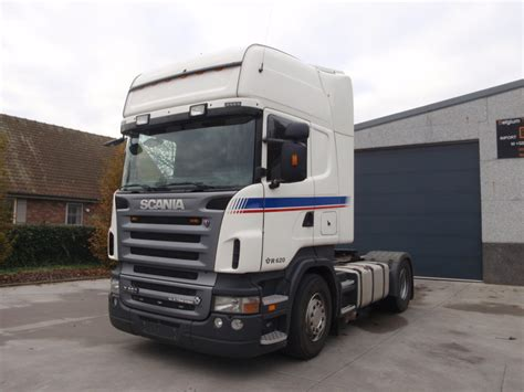 scania r620 topline tractor unit from belgium for sale at