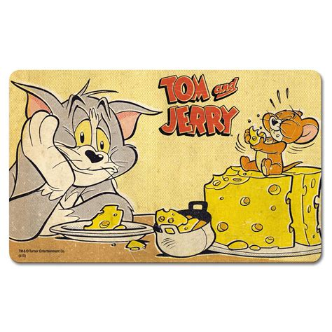 Sale Tom And Jerry 121 Transparan tom jerry cheese breakfast cutting board formica