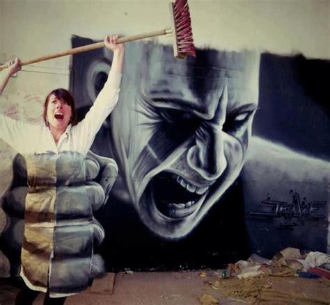 cool street art amp inventive urban art mr pilgrim