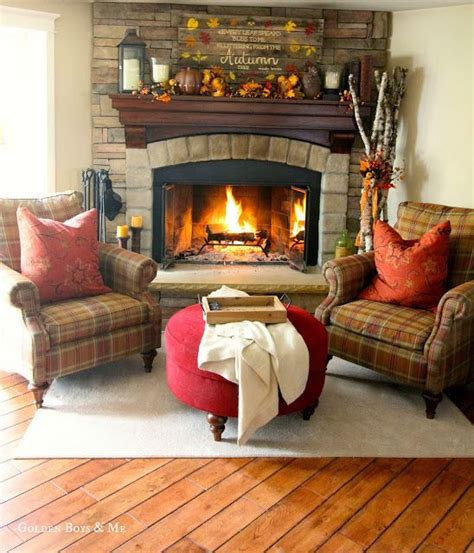 cozy fireplace seating ideas