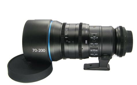 customized cine lens zoom nikon 70 200mm f 2 8 canon mount for eos dslr cameras ebay