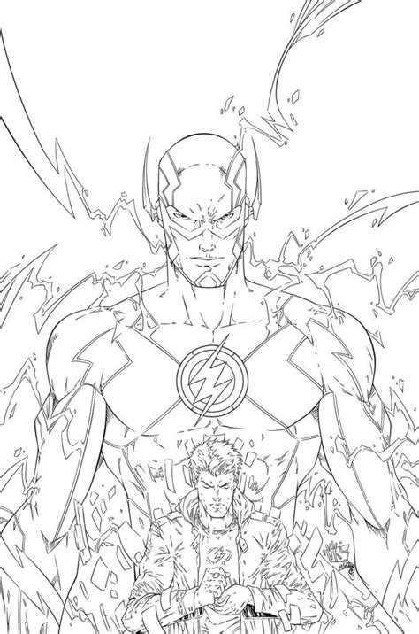the flash coloring pages coloring home