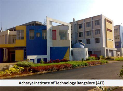 Aits Rajet Mba by Acharya Institute Of Technology Bangalore Ait Mba