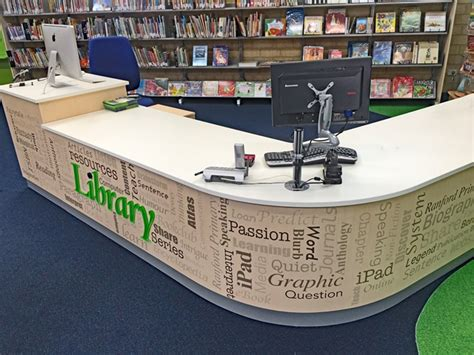 library desk library furniture circulation desk library furniture