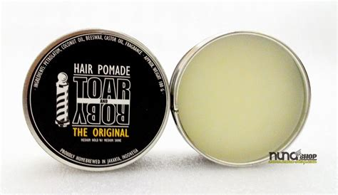 Pomade Toar And Roby Based Tnr Pomade The Original toar and roby the original medium hold