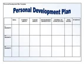 Template For A Personal Development Plan by Personal Development Plan Template New Calendar Template