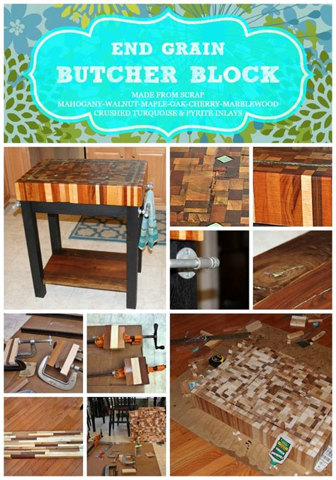 how to make an end grain butcher block end grain butcher block island melton team home diy projects