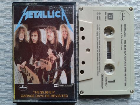 Garage Days Re Revisited by Metallica The 5 98 E P Garage Days Re Revisited