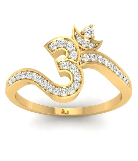 Om Design Om 29 on jewels5 om design gold ring on snapdeal