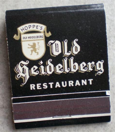 The Barn Van Nuys Vintage Matchbook Old Heidelberg Restaurant Hoppe S Van