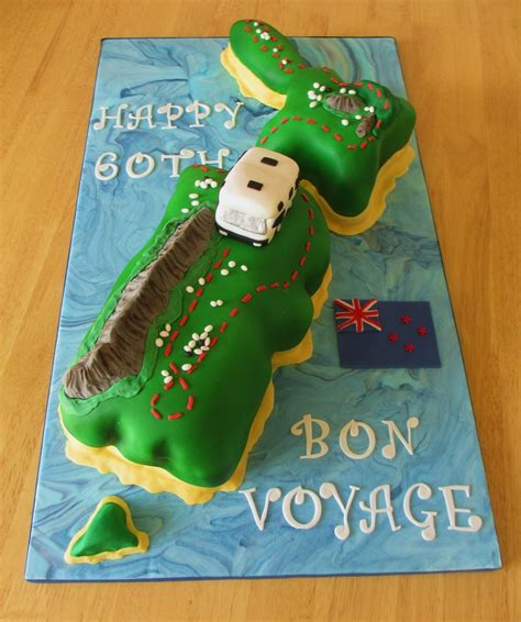 Birthday Themes Nz | 77 best images about bon voyage cake ideas on pinterest