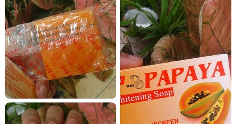 Sabun Muka Pepaya ngesart review sabun rdl papaya whitening soap