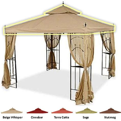 arrow gazebo arrow gazebo replacement canopy garden winds