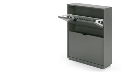 small shoe storage cabinet marcell small shoe storage cabinet grey made
