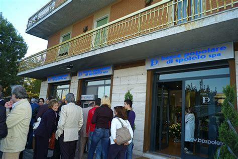 banco popolare di spoleto commissariata la banca popolare di spoleto cronache