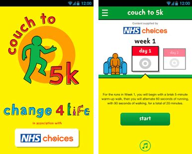 To 5k Nhs App by Change4life To 5k Apk Version 1 2 0