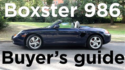 Porsche Boxster Buyers Guide by My Really Nerdy Boxster Buyers Gude 986 Forum For