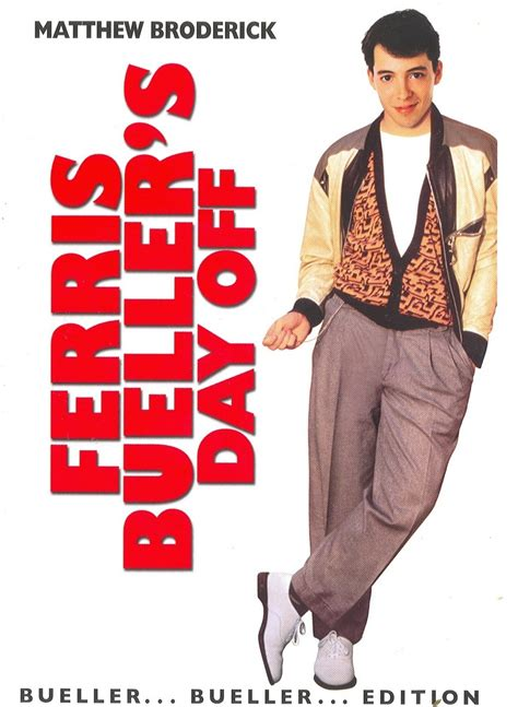 Ferris Bueller Day Ferris Bueller S Day 1986 Classic Review Billy S