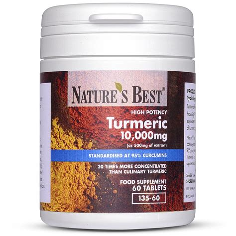 natures best turmeric tablets 10 000mg nature s best