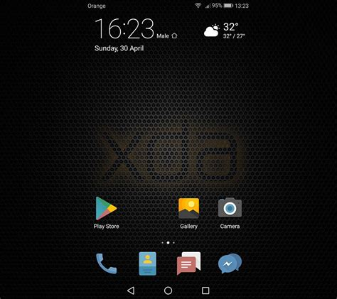 themes apps xda theme xda exclusive for emui 5 0 last upd huawei p9
