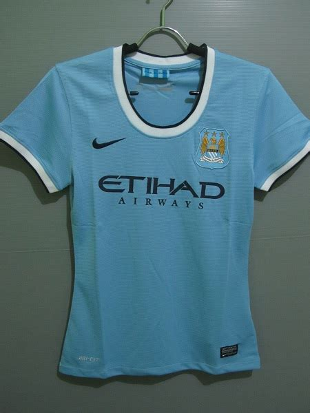 Kaos Manchester City One Club One Manchester jersey bola model fit jersey bola model
