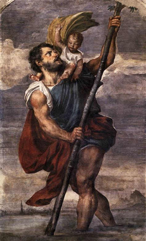 caput mundi st christopher patron saint of travel